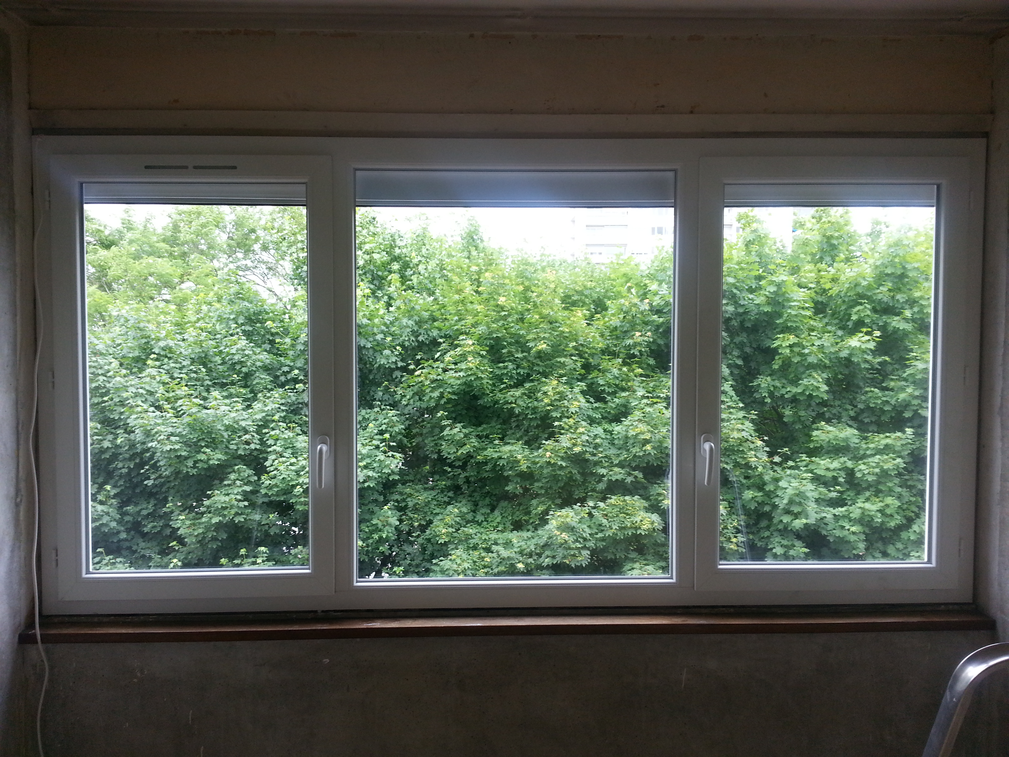 Fenêtre 2 vantaux + fixe Ris Orangis 91130