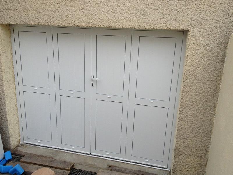 Porte de garage aluminium MORANGIS 91420