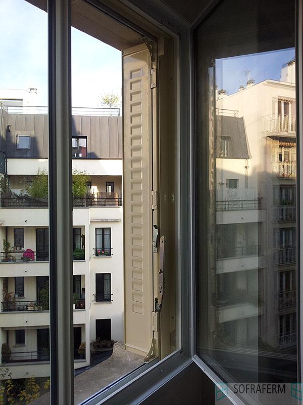 Persiennes métalliques Boulogne