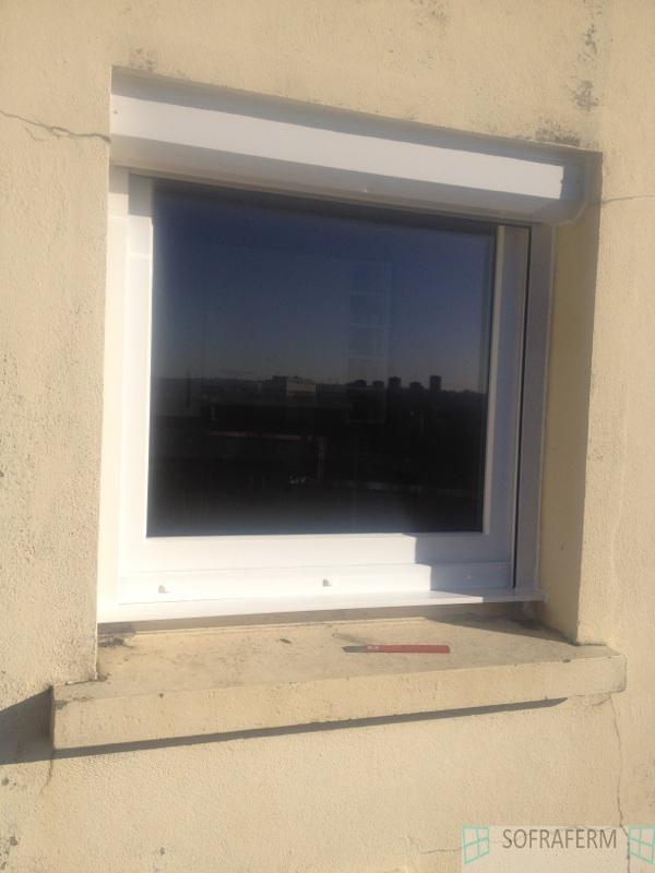 Fenêtre et volet roulant manuel LONGJUMEAU