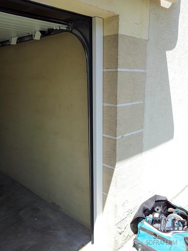 Ecoinçon pour porte de garage sectionnelle MAROLLES EN HUREPOIX 91630