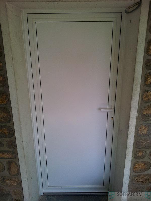 Porte de service aluminium 91230 MONTGERON