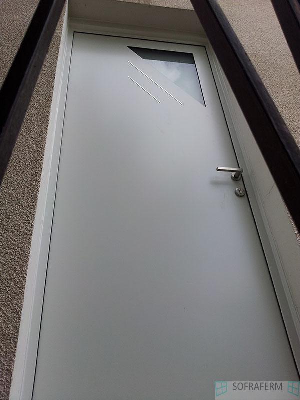 Porte d'entrée aluminium 91160 SAULX LES CHARTREUX