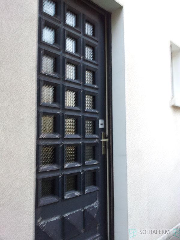 Porte d'entrée bois 91160 SAULX LES CHARTREUX