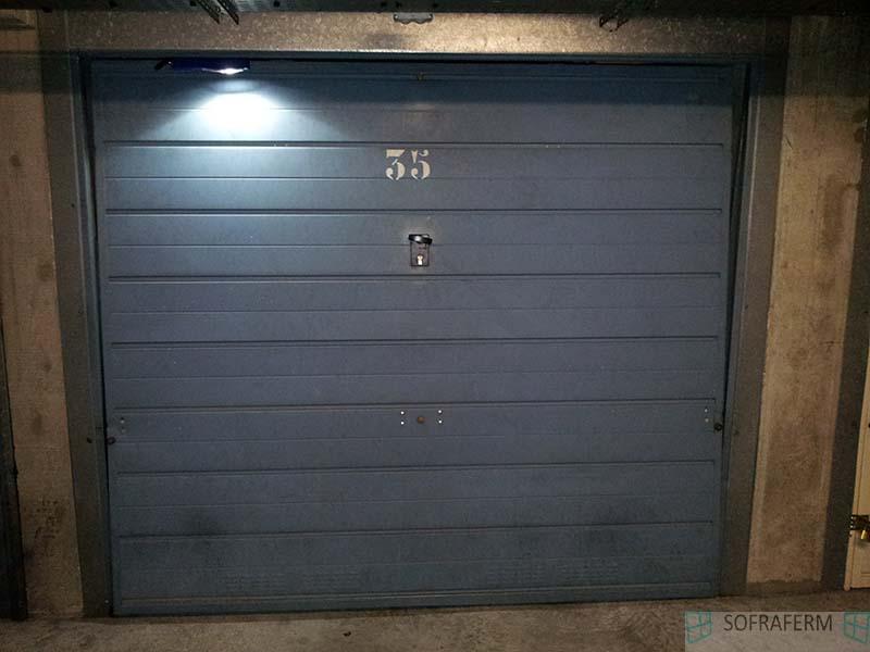 Porte de garage basculante pour box LONGJUMEAU 91160