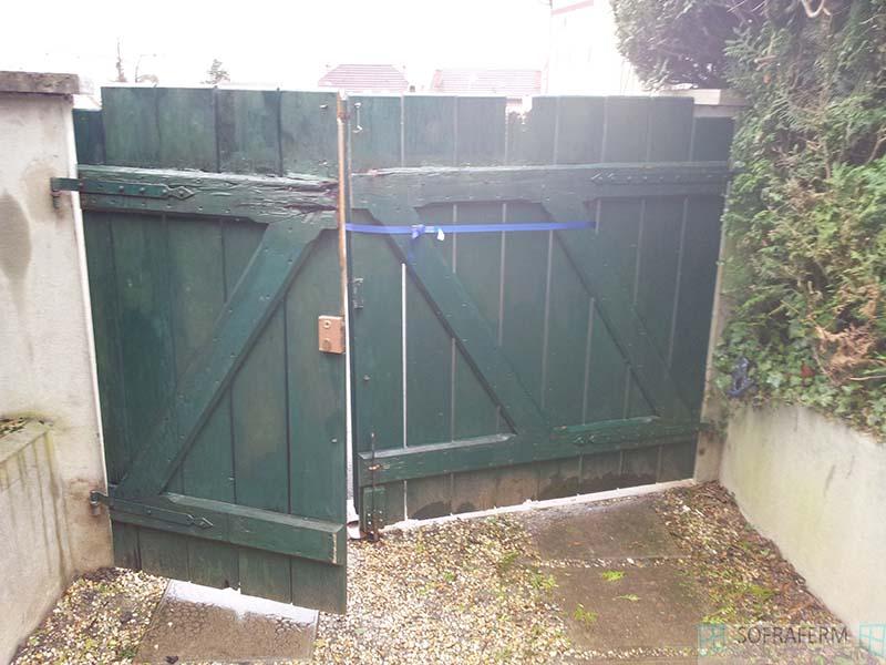 Portail bois MONTHLERY 91310