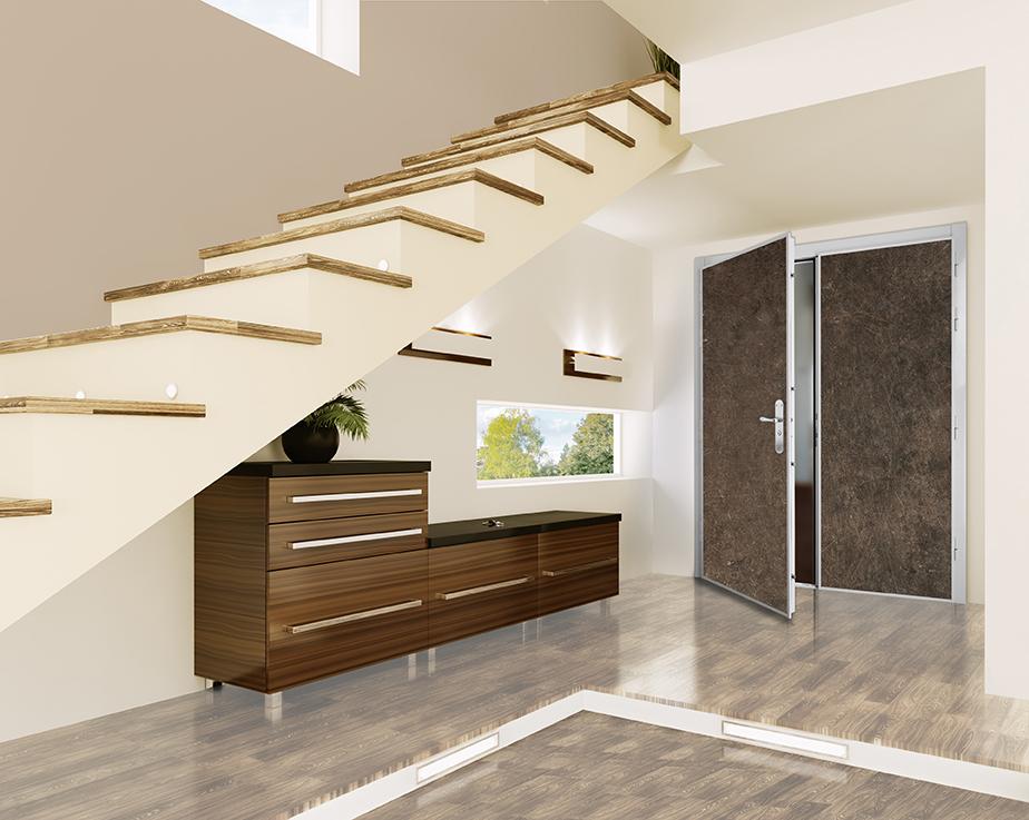 Portes blind es pour appartement sofraferm fen tres for Norme porte paliere appartement