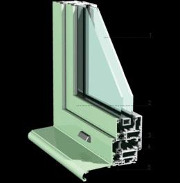 Coupe de fenêtre en alu